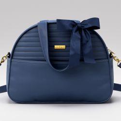 Bolsa Maternidade Clássica Azul Marinho 38cm