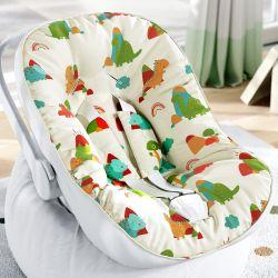 Capa de Bebê Conforto com Protetor de Cinto Dinossauros Coloridos