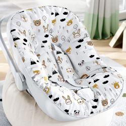 Capa de Bebê Conforto com Protetor de Cinto Safári Escandinavo