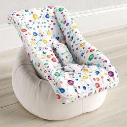 Capa de Bebê Conforto com Protetor de Cinto Poá Artsy Colorido