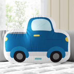 Almofada Caminhonete Azul 33cm