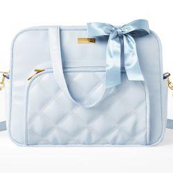 Bolsa Maternidade Azul Luxo 40cm