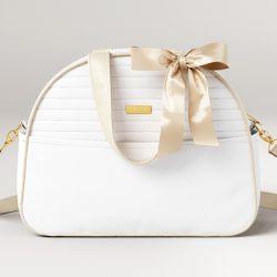 Bolsa Maternidade Clássica Branca 38cm
