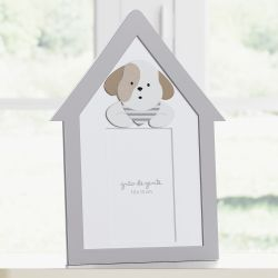 Porta Retrato MDF Cachorrinhos 10cm x 15cm