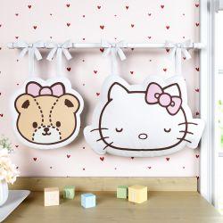 Porta Fraldas Hello Kitty e Ursinha Tiny Chum 2 Peças