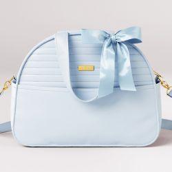Bolsa Maternidade Clássica Azul 35cm