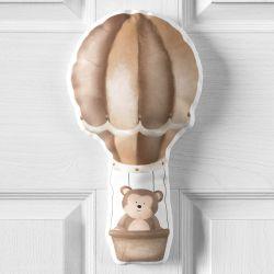 Porta Maternidade Amiguinho Macaco no Balão 16cm