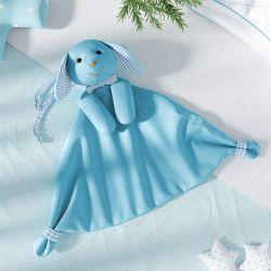 Naninha de Bebê Coelhinho Azul