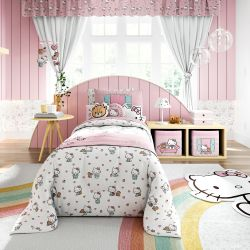 Quarto Infantil Hello Kitty 14 Peças