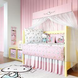 Quarto de Bebê Hello Kitty 22 Peças