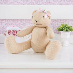 Ursa Princesa Poá 34cm