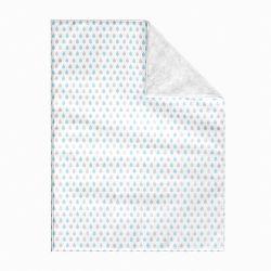 Cobertor Gotas do Céu Azul 1M