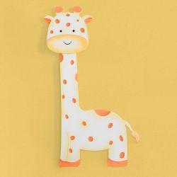 Painel Decorativo Girafa Safári Aquarela