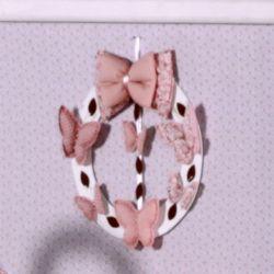 Porta Maternidade Nude Borboleta