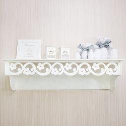 Prateleira Floral Supreme Branco