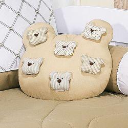 Almofada Urso Teddy Cáqui