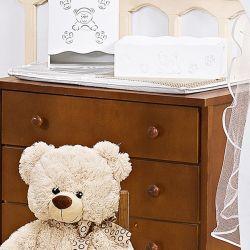 Trocador de Fraldas Plastificado Urso Amigão
