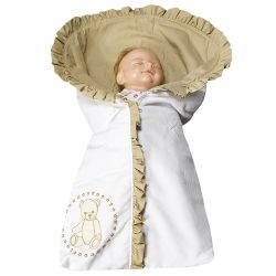 Porta Bebê Teddy Cáqui