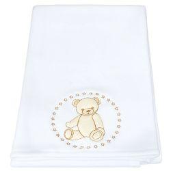 Cobertor Teddy Branco
