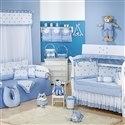 Quarto para Bebê Luxo Azul