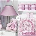 Kit Acessórios Luxo Rosa