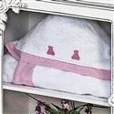 Toalha com Capuz Luxo Rosa