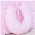 Almofada para Amamentação Passarinhos Rosa