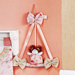 Porta Maternidade Primavera Rosa