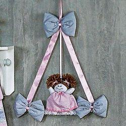 Porta Maternidade Princesa Rosa