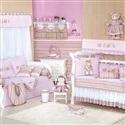 Quarto para Bebê sem Cama Babá Baby Rosa