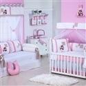 Quarto para Bebê Gorduxa Rosa