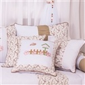 Almofadas Decorativas Passarinho Cáqui