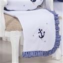 Manta Marinheiro Azul