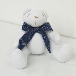 Urso Marinheiro Azul 25cm