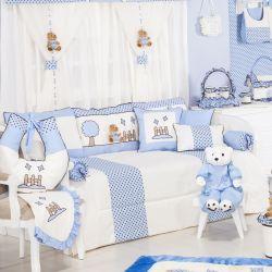Kit Cama Babá Cerquinha Azul