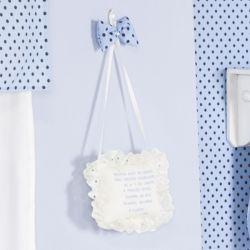 Porta Maternidade Oração Santo Anjo Cerquinha Azul