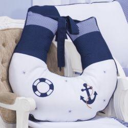 Almofada Amamentação Marinheiro Azul