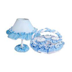 Kit Acessórios Sensação Branco e Azul