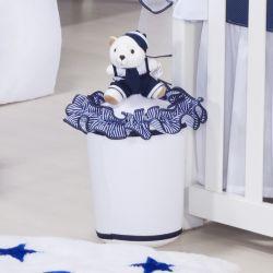 Lixeira Marinheiro Azul