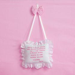 Porta Maternidade Oração Santo Anjo Teddy Rosa