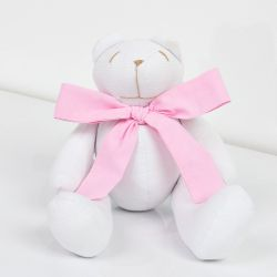 Ursa Teddy Rosa 25cm