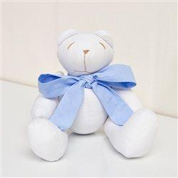 Urso Gravata Azul P