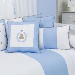 Almofadas Teddy Azul 3 Peças