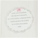 Enfeite Oração Santo Anjo Princesa Rosa