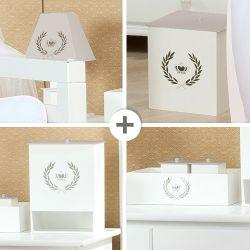 Kit Higiene Coroa Cáqui