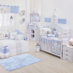 Quarto de Bebê Selva Azul