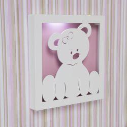 Quadro Led Ursa Baby