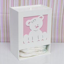 Porta Fraldas Ursa Baby