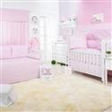 Quarto para Bebê Ponto Ajour Filó Rosa
