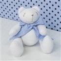 Urso P Gravata Azul Poá